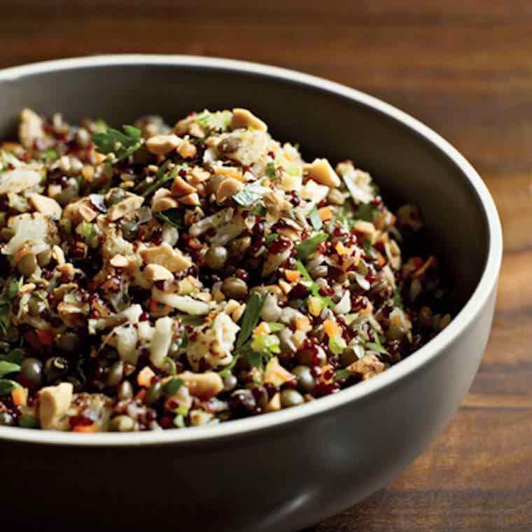 quinoa-lentils