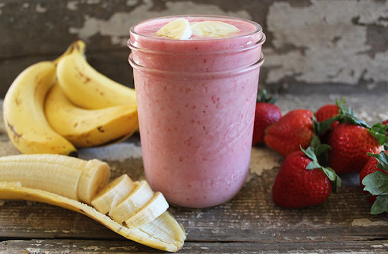 strawberry-banana-smoothie