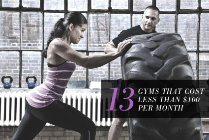 13 gyms that cost less than $100 per month