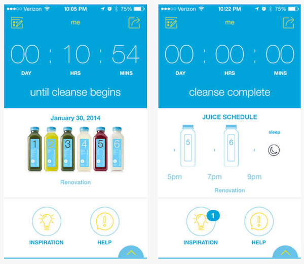 Blueprint debuts an appfor cleanse support and more wellgood blueprint app malvernweather Choice Image