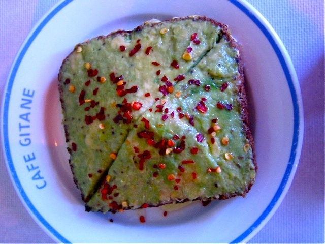 Avocado Toast_Cafe Gitane