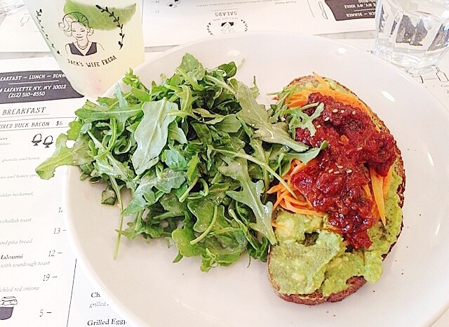 Jack's Wife Freda Avocado Toast