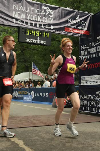 tips from a new york city triathlon pro  and race