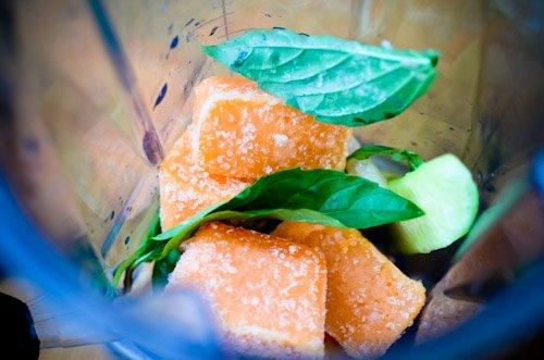 Scaling Back_cantaloupe cubes