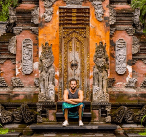 Turner, in Bali. (Photo: Michael Berz)