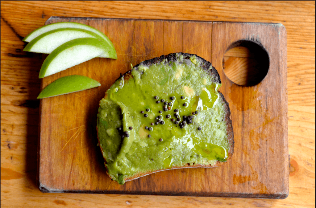 The Butcher's Daughter Avocado Toast