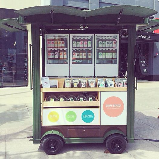 Urban Remedy Pop-up Cart