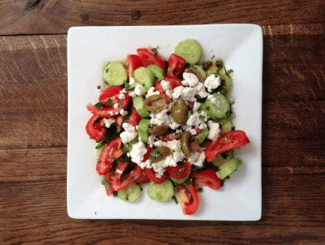Vicky Vlachonis Greek salad