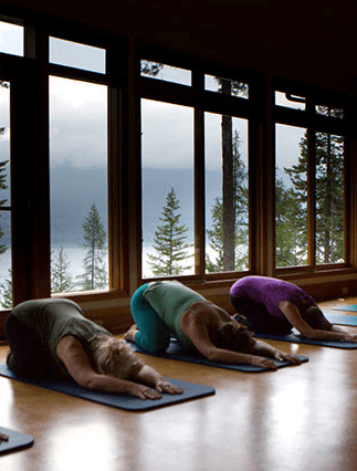 Yoga at Mountain Trek