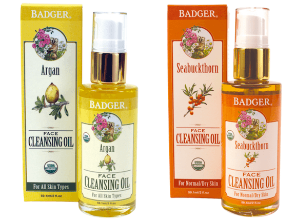 Badger_face cleansing oils