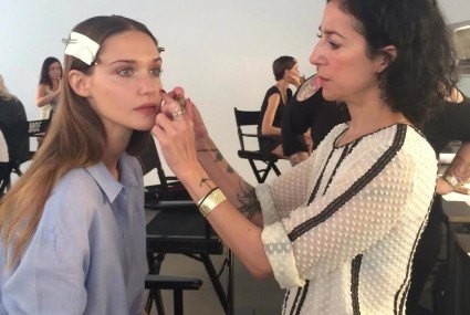 Get the look: Fresh, pretty (and healthy) runway makeup