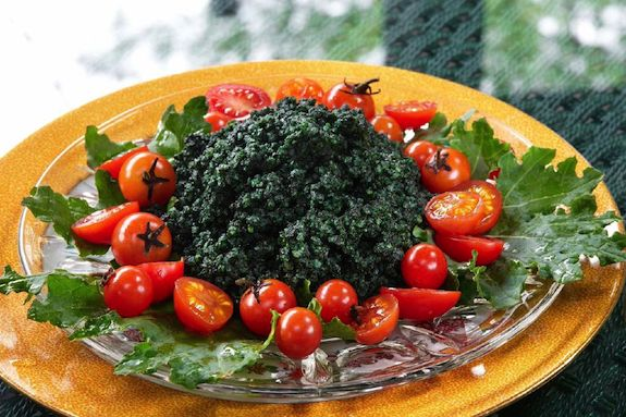 Spirulina Millet recipe, Simple Recipes for Joy, Jivamukti