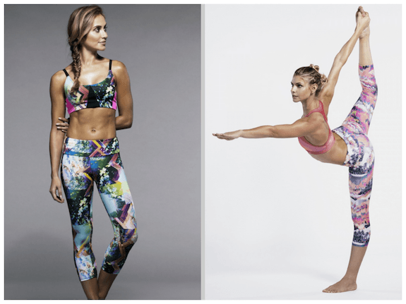 Onzie_printed fitness fashion_printed leggings