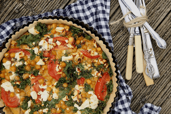 kale-chickpea-and-feta-tart-with-buckwheat-crust-1