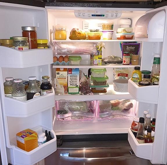 Danielle Walker-against-all-grain-refrigerator