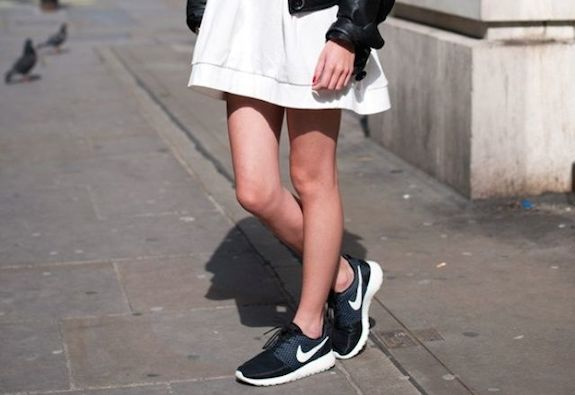 Dress-with-sneakers