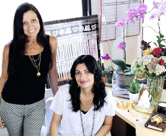 Satya Scainetti and Kiran Rai. (Photo: Kiran Rai)
