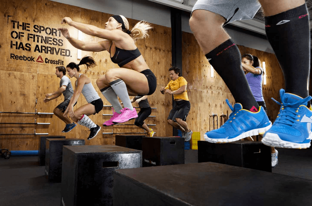 Women wearing CrossFit socks
