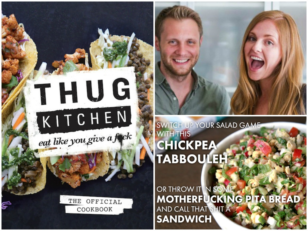 of Thug Kitchen are stirring things up—in and out of the kitchen