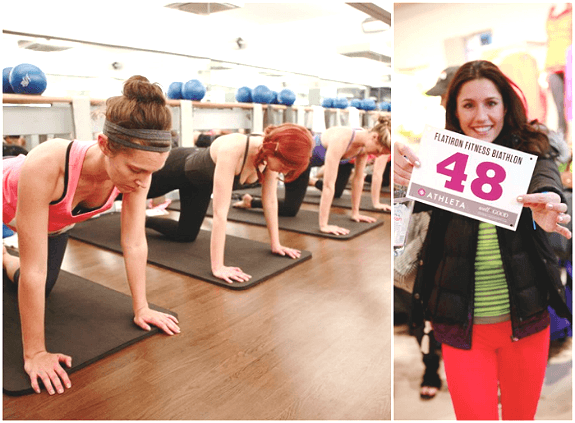 Well+Good's boutique fitness Biathlon in NYC 2013 (Photos: Larkin Clark for Well+Good)