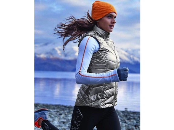 Athleta-Metallic-Down-Vest-Running-Winter
