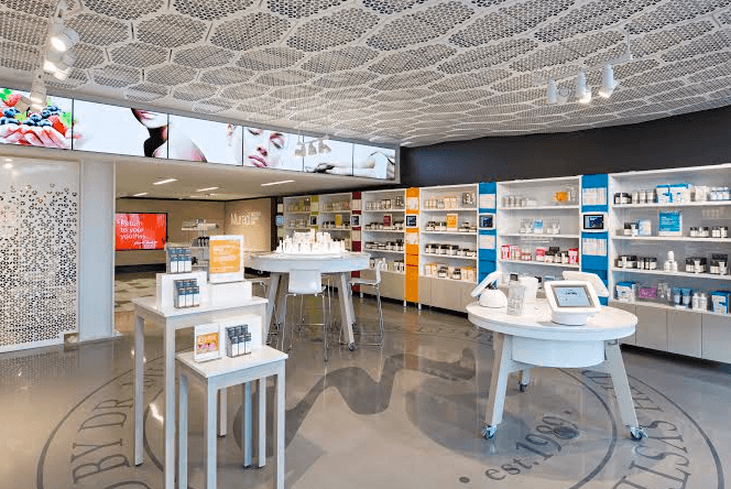 At Murad Skincare's new flagship, happiness is a key ingredient