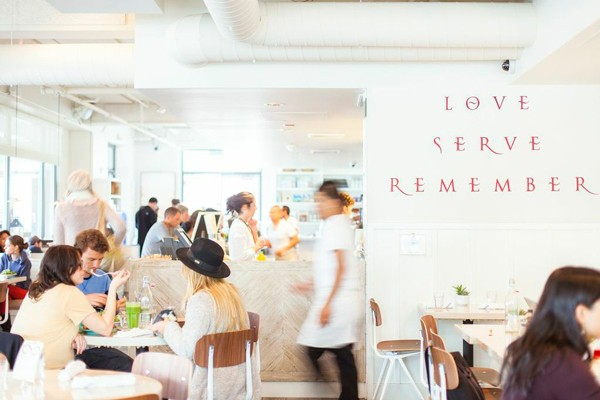 Cafe Gratitude: Serving affirmations in every bite