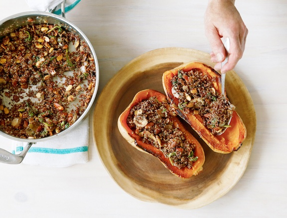 Butternut Squash with Quinoa