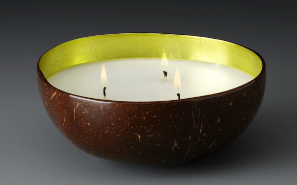 Coconut-shell-Prosperity-Candle