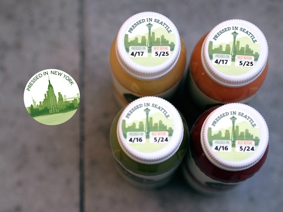 Pressed in Seattle stamps will be replaced with Pressed in New York (Photo: Vital Juice)