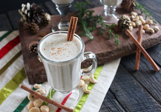 holiday smoothies_eggnog