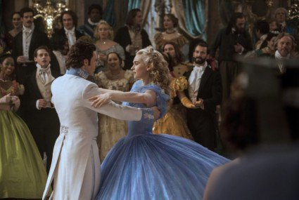 The ball gown Cinderella's dance double had to strength train for