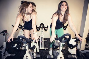 Class Action: Indoor cycling where you're always out of the saddle