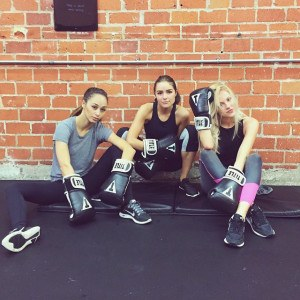 The badass workout models can't get enough of