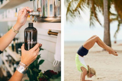 Hello, Boston! Your Athleta purchase comes with beauty swag