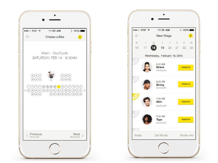 SoulCycle app
