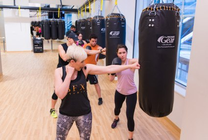 Class Action: Kettlebells and boxing gloves join forces