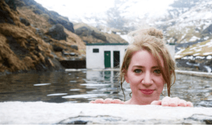 What does an abandoned pool in Iceland have to do with wellness?
