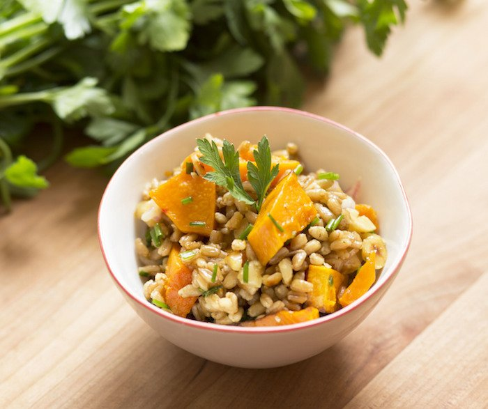 Recipe: Lemon & Salt's Toasted Farro Salad is as pretty as it is delicious