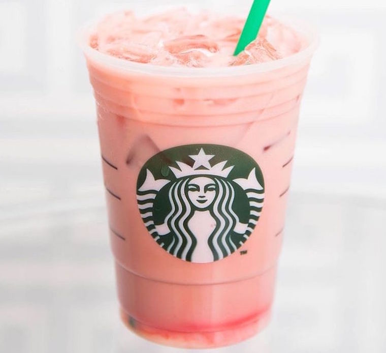 Starbucks strawberry smoothie