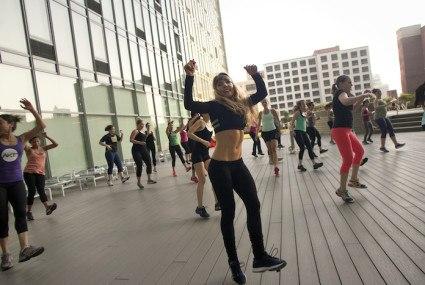 Dance cardio superstar Anna Kaiser gets a studio in the Hamptons