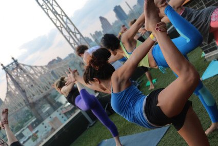 NYC's 10 most incredible outdoor yoga classes this summer