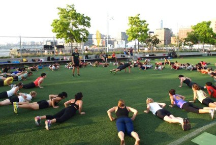 5 (free!) outdoor workouts in NYC this summer