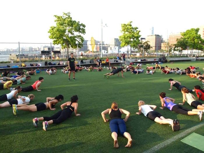 Free outdoor fitness NYC