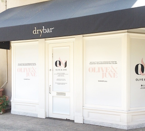 Olive & June Shacks up With Drybar in Pasadena