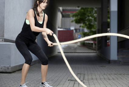How to use the battle ropes at your gym