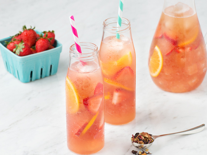 Cocktail teas for healthier summer mixed drinks well good Good fruity drinks to get at a bar
