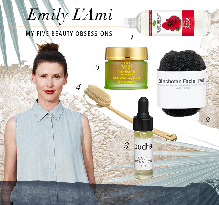 My Five Beauty Obsessions - Emily Lami
