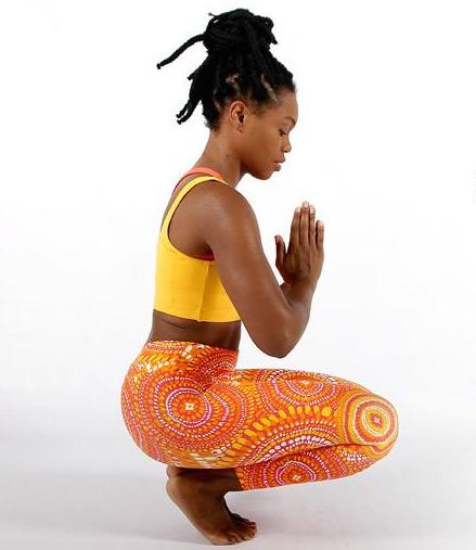 Liquido African Sunrise leggings