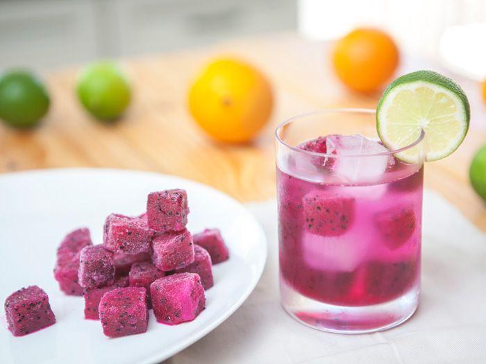 pitaya cubes